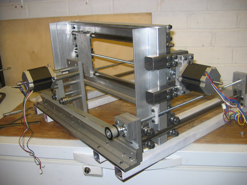 Homemade cnc router mill motors and drive for How to run stepper motor without driver